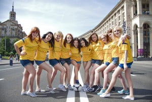 Ukraine Women ready for football
