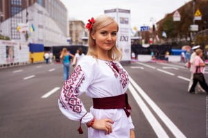 Ukraine Girl Independence Day
