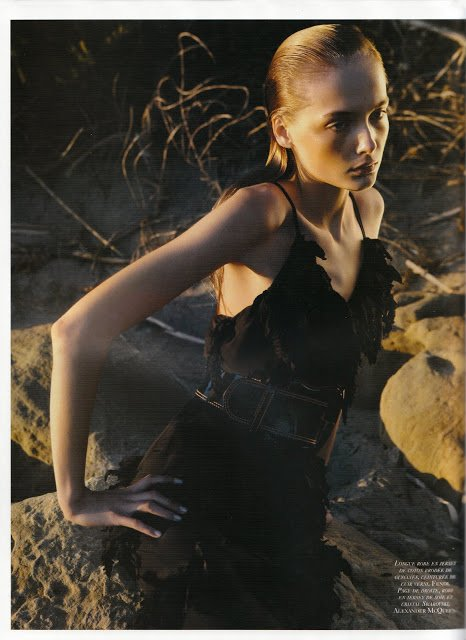 Snejana Onopka photos by Mario Sorrenti 2010